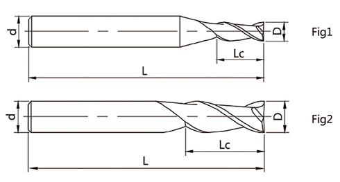 4刃圆角头立铣刀矢量图