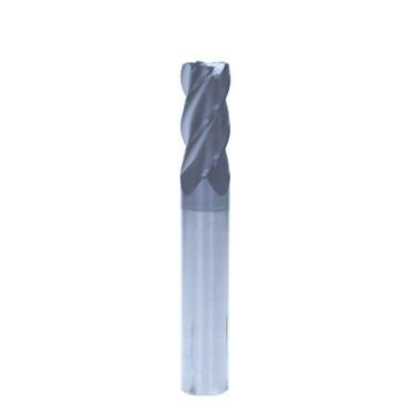 D8*R1四刃圆鼻铣刀