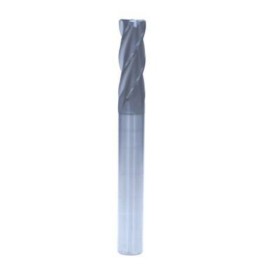 D10*R1四刃圆鼻铣刀